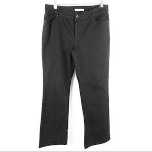 Chicos Platinum charm ms jeans short black